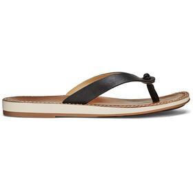 OluKai Nohie Sandals Women Black/Tan